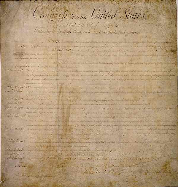 first amendment is the cornerstone of the united states essay The united states congress can pass a bill setting out a proposed amendment by a vote of two thirds in each body or a constitutional convention can be convened by a.